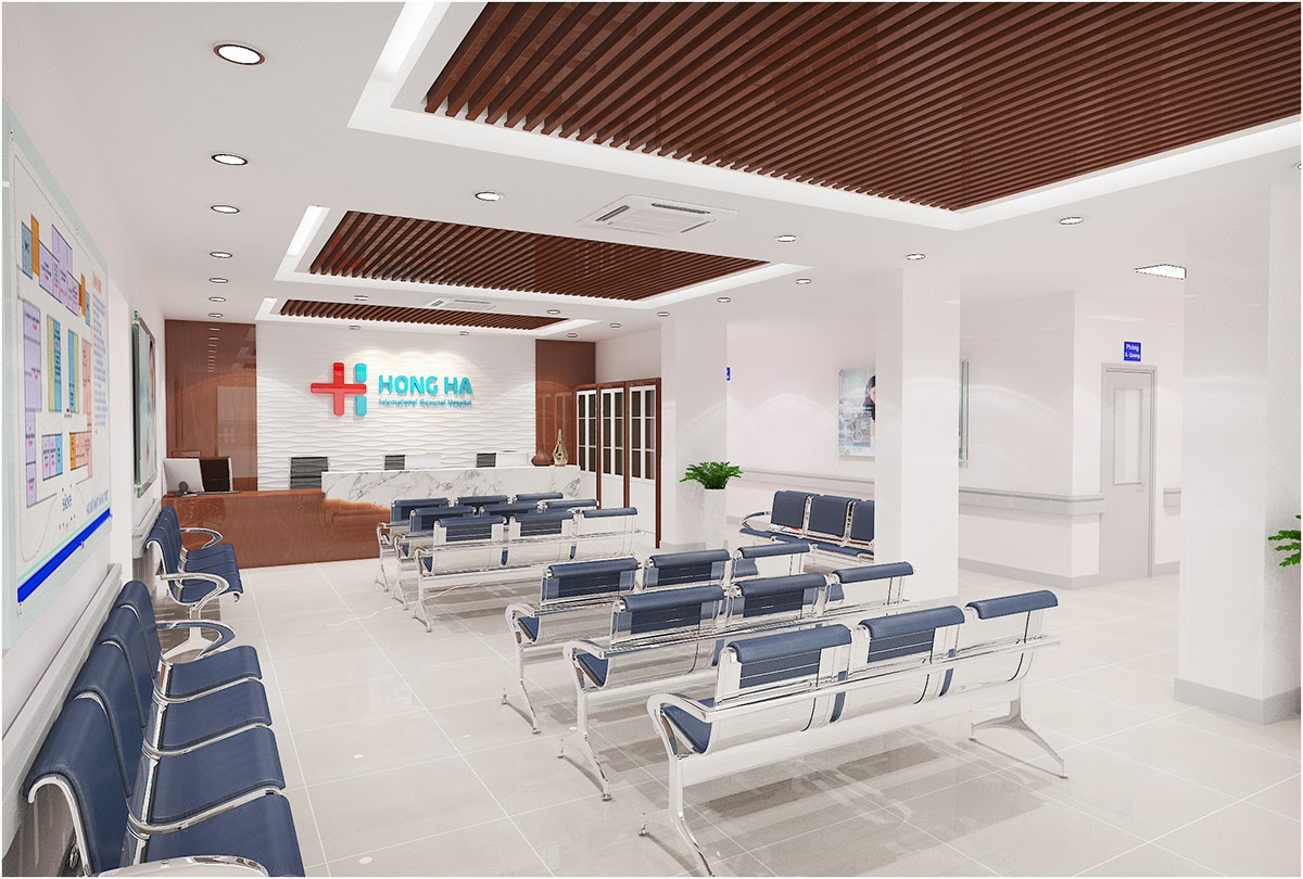 Cơ sở vật chất khang trang và hiện đại tại IVF Bệnh viện Hồng Hà