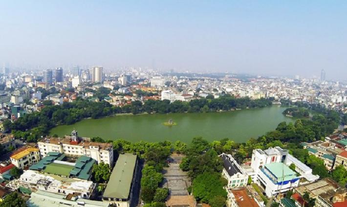 Chất lượng không khí Hà Nội cải thiện trong tuần qua. (Ảnh minh họa: Internet)