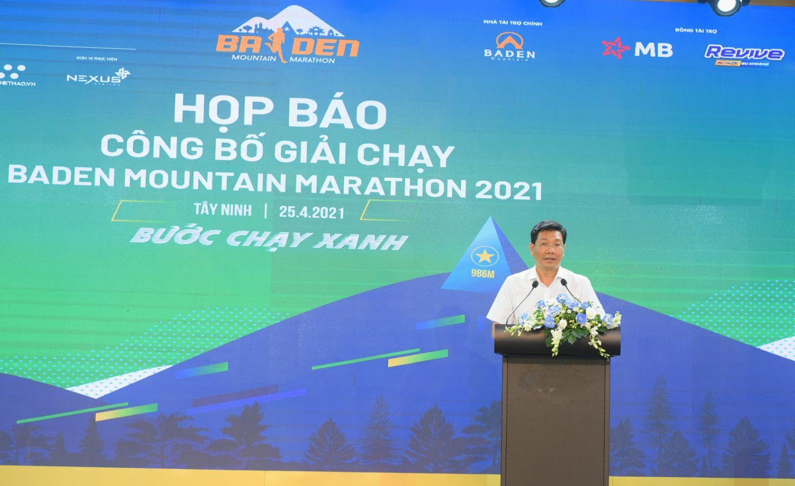 Ông Nguyễn Mạnh Hùng- Ủy viên Ban thường vụ Tỉnh ủy-PCT Thường trực UBND tỉnh phát biểu
