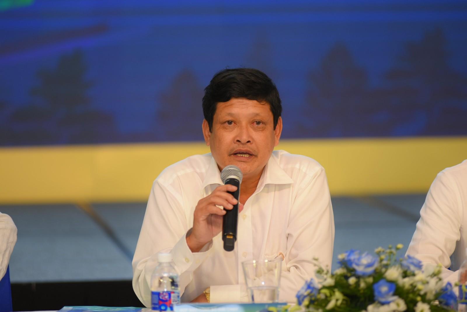 Ông Nguyễn Thành Tiến- Tỉnh ủy viên, Giám đốc Sở Văn hóa Thể thao & Du lịch Tây Ninh- Trưởng Ban tổ chức Giải chạy