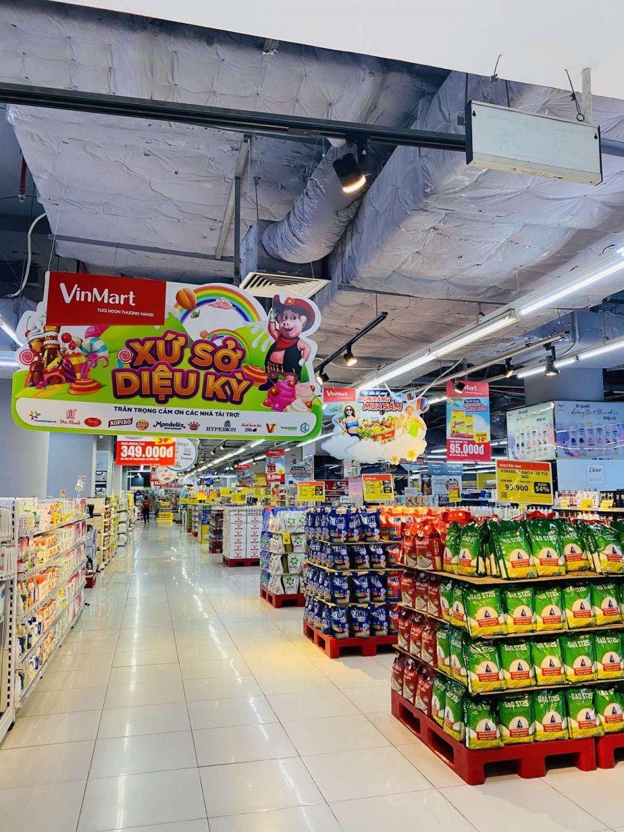 VinMart và VinMart+ vẫn giảm sâu tại một số ngành hàng thực phẩm thiết yếu
