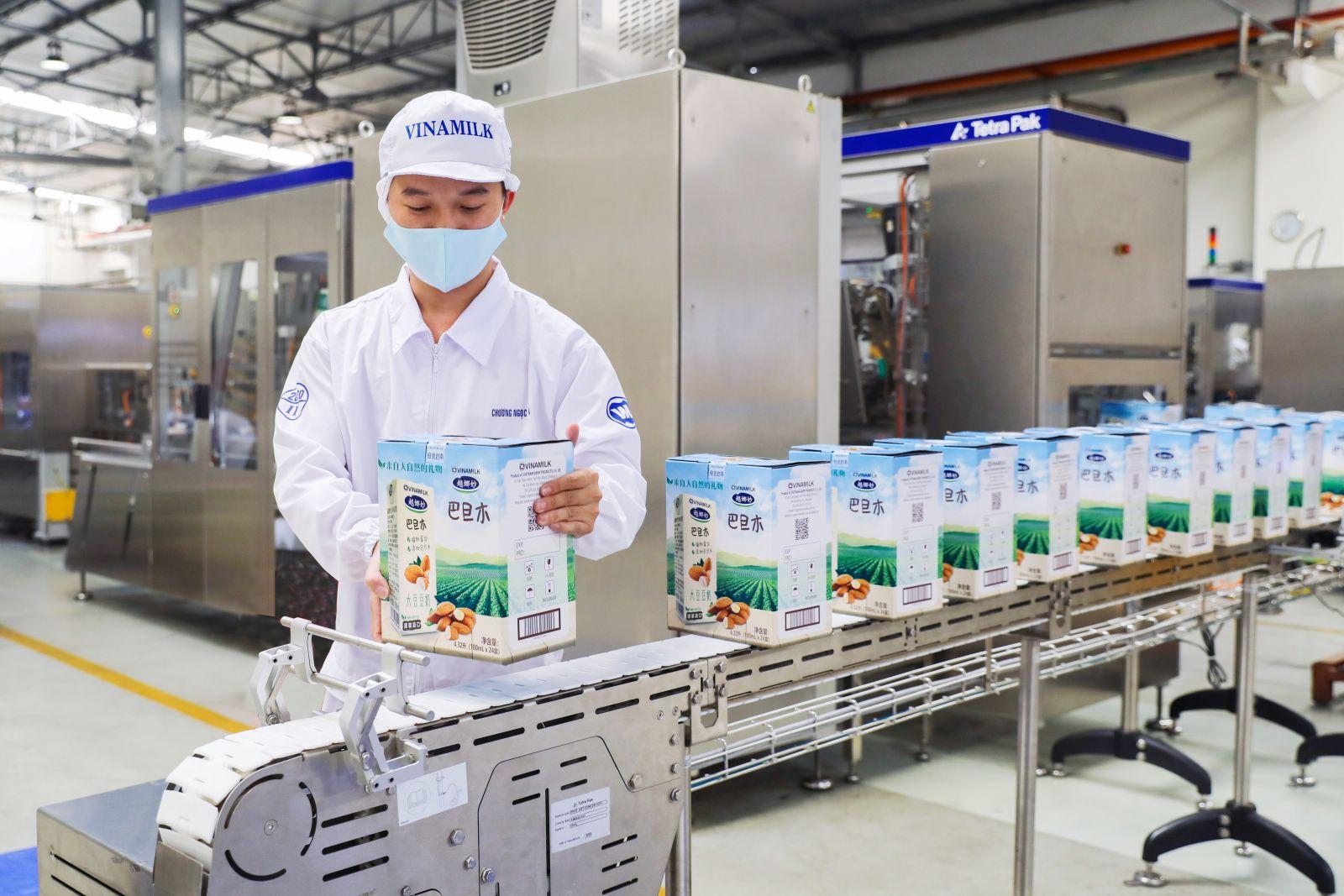 Quí 1/2021 doanh thu xuất khẩu của Vinamilk tăng trưởng trên 8% với nhiều tin tích cực từ các thị
