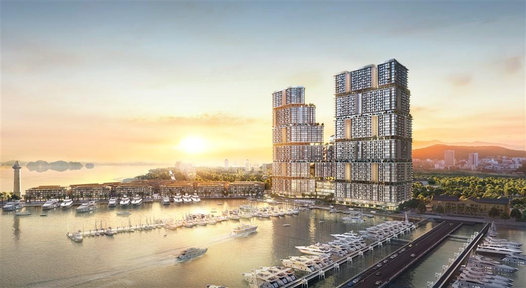 Toàn cảnh tổ hợp bất động sản giải trí Sun Marina kề bên Vịnh Du thuyền