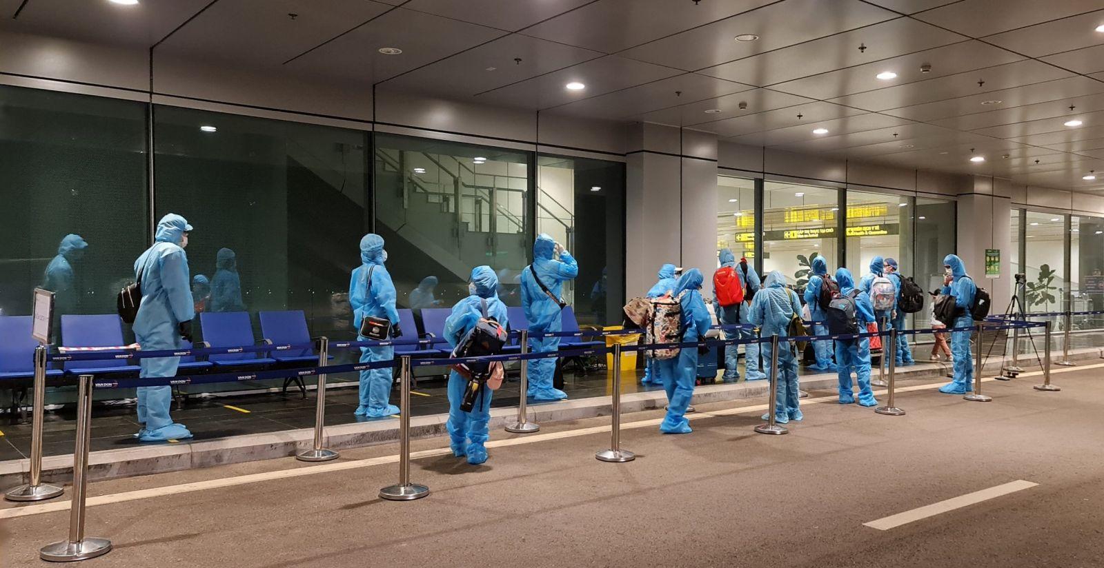 Sân bay Vân Đồn đặt vấn đề tuân thủ chặt chẽ quy trình phòng dịch lên hàng đầu