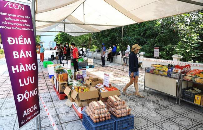 Các điểm bán hàng lưu động đã được triển khai tại Hà Nội.