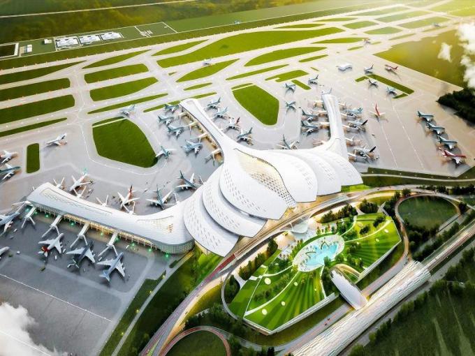 Bộ Giao thông - Vận tải đã ban hành văn bản yêu cầu thực hiện các thủ tục chuẩn bị đầu tư dự án thành phần 1 và 4 thuộc Dự án đầu tư xây dựng sân bay Long Thành.