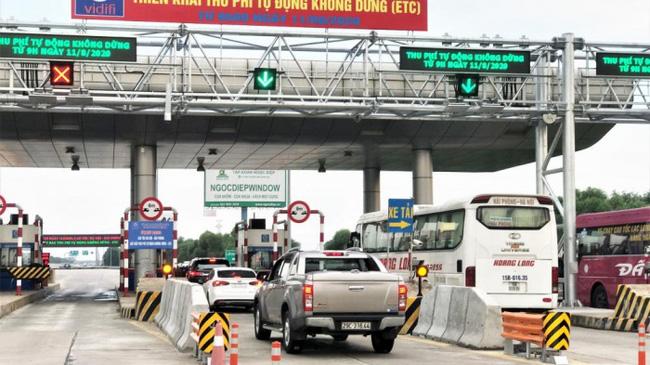 Thu phí cao tốc Hà Nội - Hải Phòng.