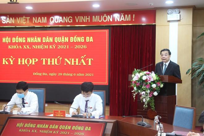 Chủ tịch UBND TP Chu Ngọc Anh phát biểu chỉ đạo tại kỳ họp
