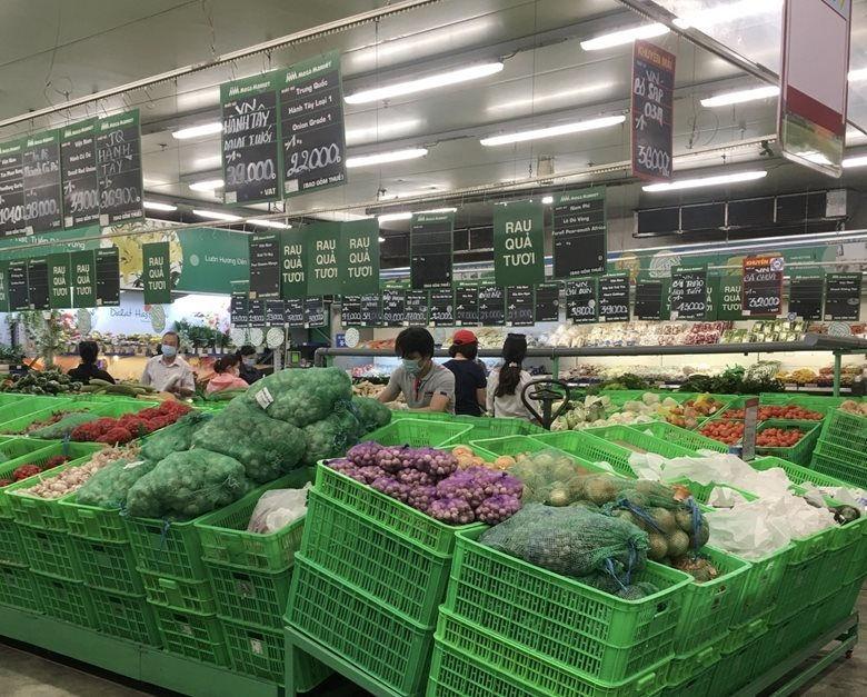 Ngành nông nghiệp tỉnh Bình Dương nỗ lực hỗ trợ kết nối với hệ thống siêu thị để tiêu thụ nông sản địa phương.