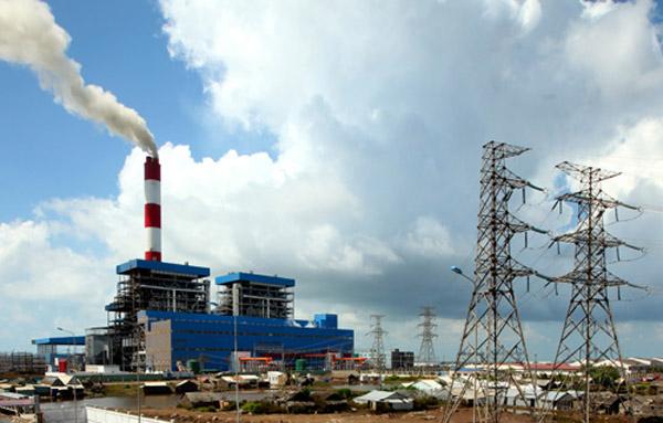Dự án Nhiệt điện than Long An 1 và 2 được chuyển sang sử dụng LNG. Nguồn: TL