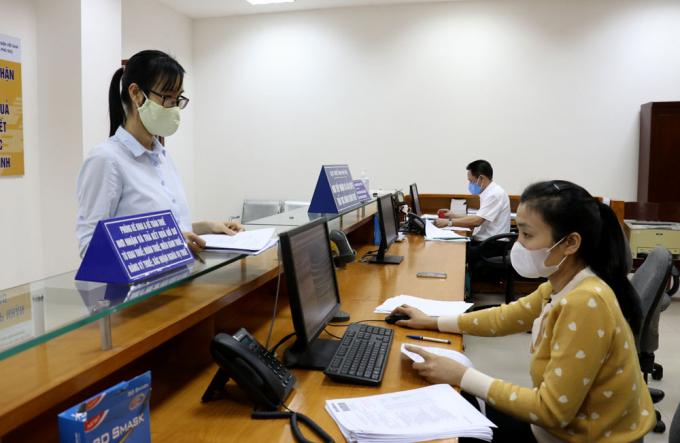 Ngành Thuế chủ động áp dụng công nghệ thông tin trong quản lý thuế. Ảnh TL