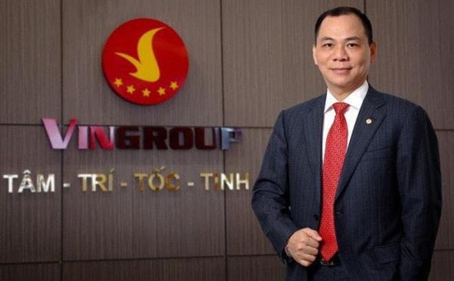 Ông Phạm Nhật Vượng, chủ tịch Vingroup (VIC) tiếp tục là người giàu nhất tại Việt Nam . Ảnh TL