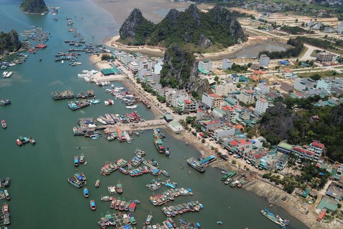 Quang Ninh lập quy hoạch sân golf sinh thái 3 mặt giáp biển tại Vân Đồn.
