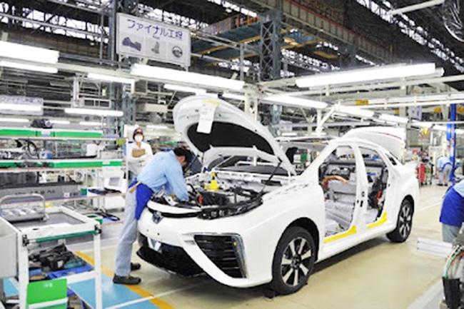 Nhiều hãng xe Nhật Bản cắt giảm sản lượng ô tô do tình trạng thiếu chip toàn cầu.