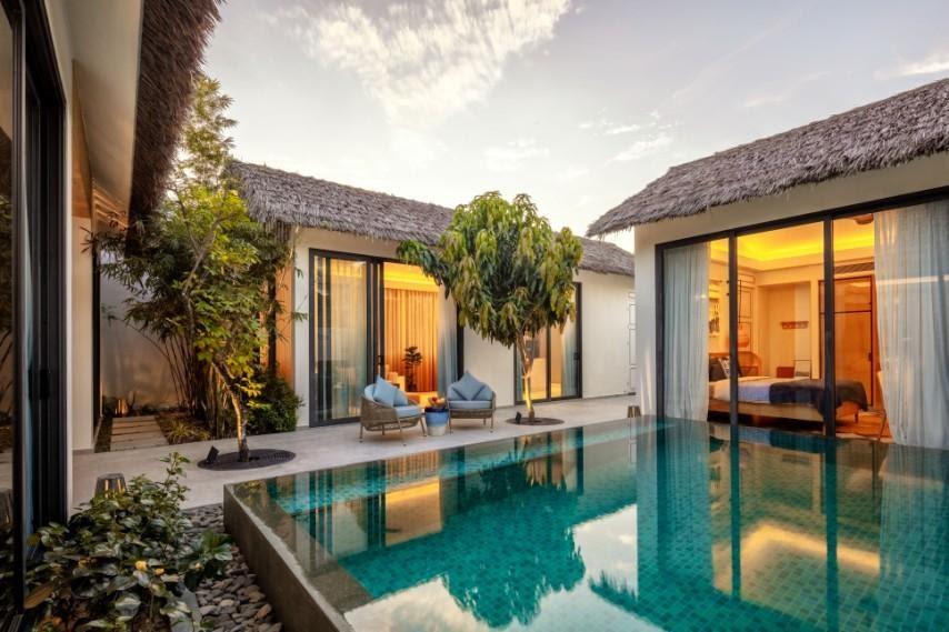 Khu nghỉ dưỡng New World Phu Quoc Resort, một trong những sản phẩm mới trong năm 2021 của Tập đoàn Sun Group