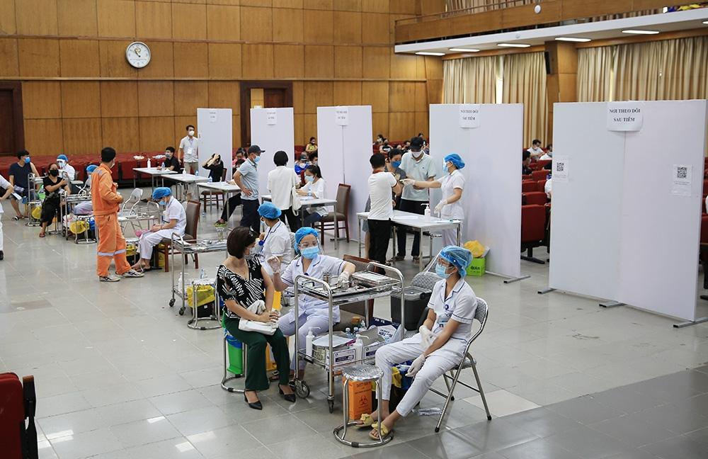 Điểm tiêm trường Đại học Bách khoa Hà Nội