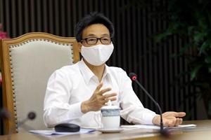 Phó Thủ tướng Vũ Đức Đam phát biểu tại cuộc họp - Ảnh: VGP/Đình Nam