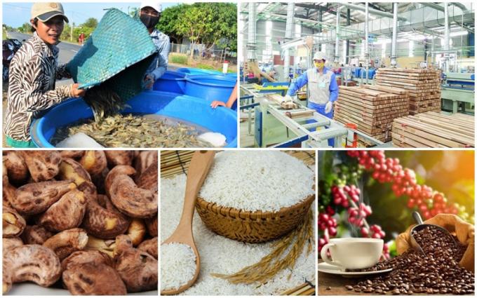 Xuất khẩu nông, lâm, thủy sản 4 tháng đầu năm đạt khoảng 17,15 tỷ USD. Ảnh TL