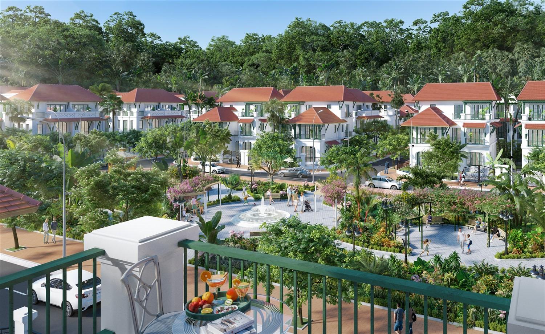 """""""Siêu phẩm"""" Sun Tropical Village sẽ được giới thiệu đến khách hàng qua 8 đại lý phân phối chính thức (Ảnh phối cảnh)"""