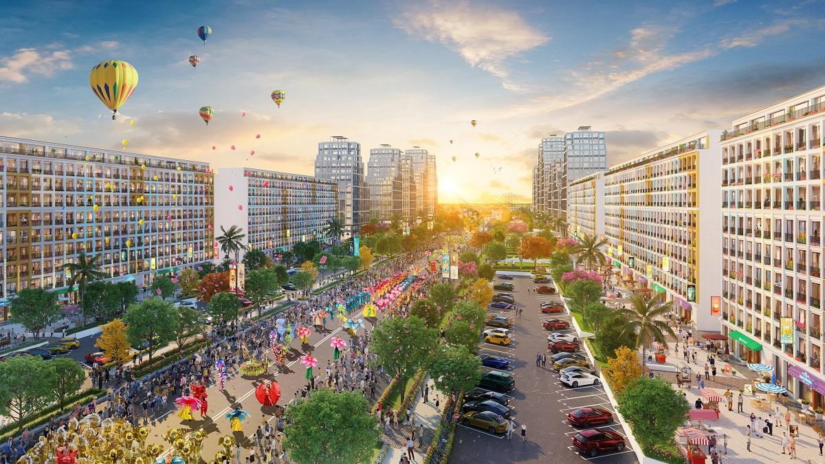 Đại đô thị Sun Grand Boulevard tại Sầm Sơn, Thanh Hóa (Ảnh phối cảnh minh họa)