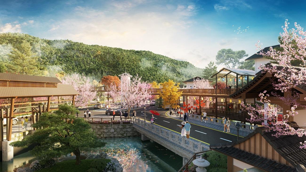 Sun Onsen Village Limited Edition – tổ hợp biệt thự khoáng nóng đẳng cấp tại Quảng Ninh (Ảnh phối cảnh minh họa)