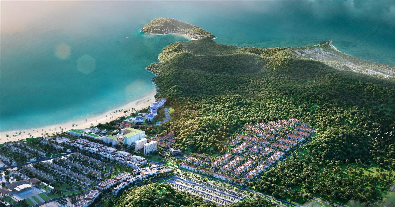 """Sun Tropical Village - """" ngôi làng nhiệt đới"""" sắp xuất hiện tại Bãi Kem, Nam Phú Quốc (Ảnh phối cảnh)"""