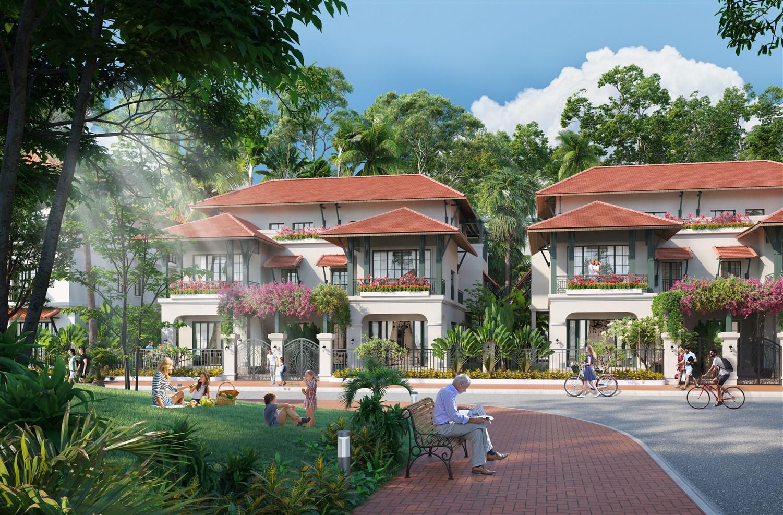Sun Tropical Village tiên phong đem đến dòng BĐS second home chuẩn wellness ở Phú Quốc (Ảnh phối cảnh)