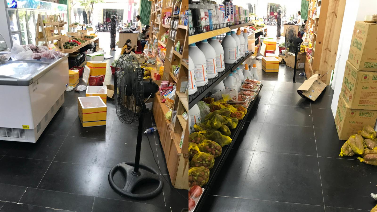 Khi hay tin thực phẩm nhận được lại bị hư hỏng, người tiêu dùng đến cửa hàng để tìm lời giải thích thỏa đáng nhưng chủ cửa hàng không tiếp còn doạ sẽ báo công an.