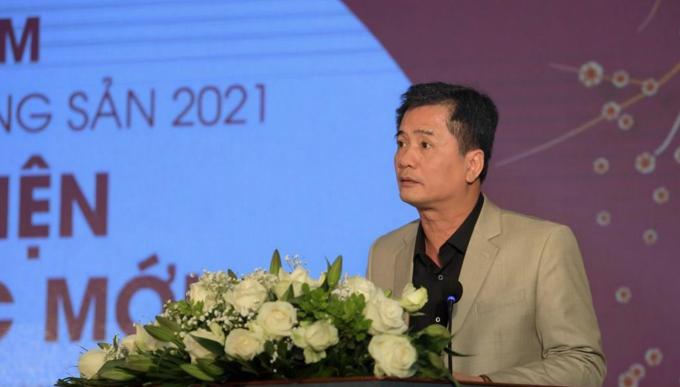 Ông Nguyễn Văn Đính: Thị trường bất động sản năm 2021 khó có nguy cơ ảo hay bong bóng, ngược lại sẽ bền vững hơn năm 2020. Ảnh: Lâm Tú