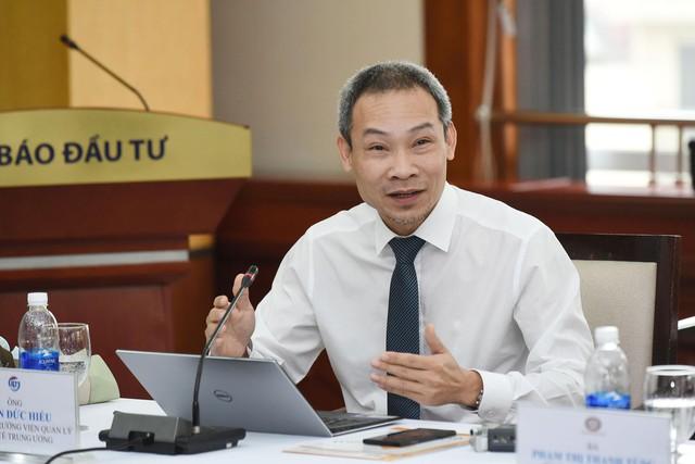 Ông Phan Đức Hiếu, Phó Viện trưởng Viện Quản lý Kinh tế Trung ương (CIEM).