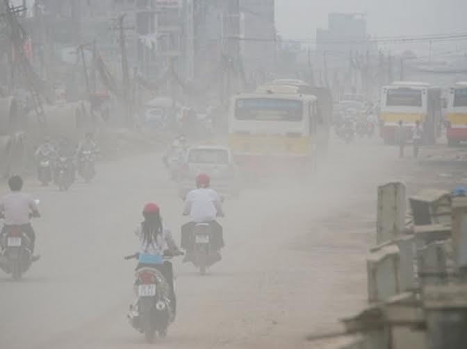 Ô nhiễm không khí ở Hà Nội liên tục ở ngưỡng nâu, ngưỡng cảnh báo cao nhất.