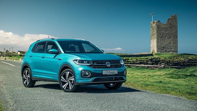 T-Cross 2021. Ảnh: Volkswagen.