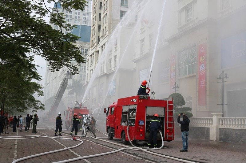 Hà Nội triển khai nhiều nhiệm vụ trọng tâm về phòng cháy, chữa cháy
