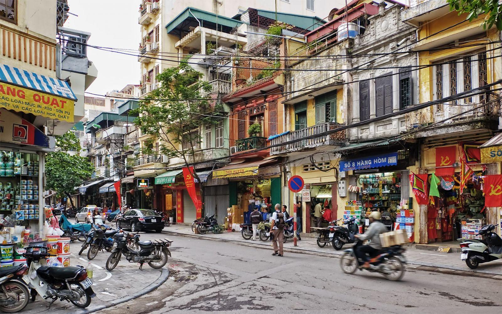 Phố cổ Hà Nội chỉ được phép xây nhà cao đến 4 tầng