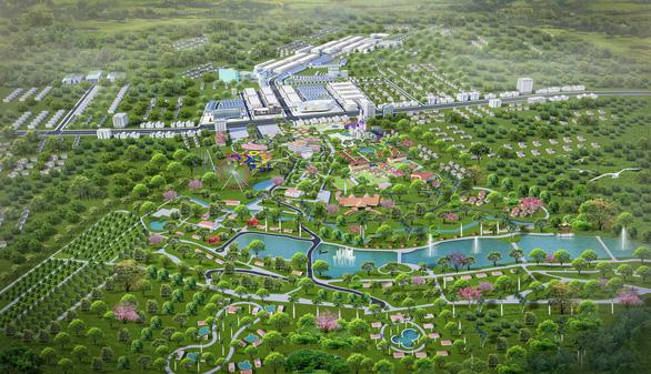 Phối cảnh dự án Đại đô thị Felicia City Bình Phước (Khu đô thị TM-DV Mỹ Lệ)
