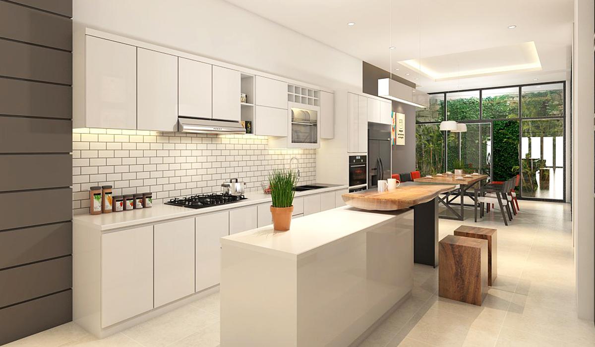 Gian bếp trong một ngôi nhà đóng vai trò rất quan trọng, là nơi thể hiện tiềm lực tài chính của gia chủ (Nguồn: Sưu tầm)