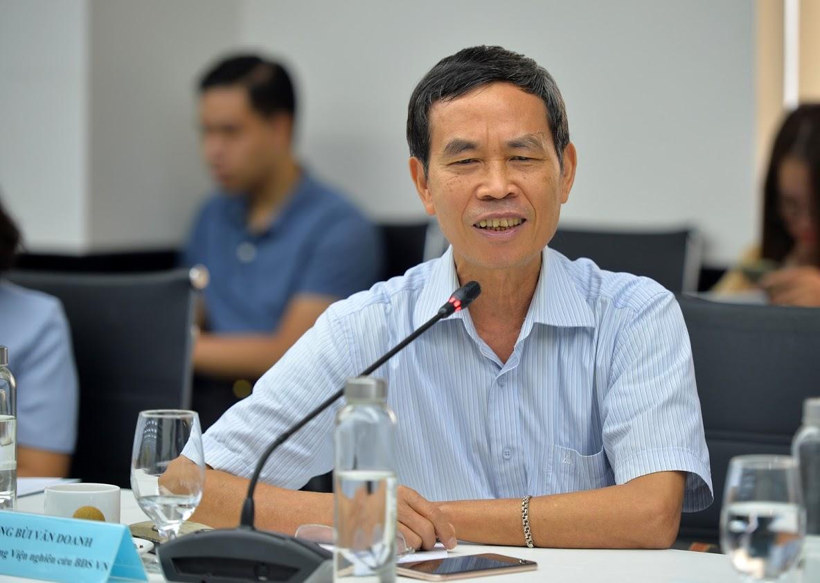 Ông Bùi Văn Doanh - Viện trưởng Viện Nghiên cứu Bất động sản Việt Nam