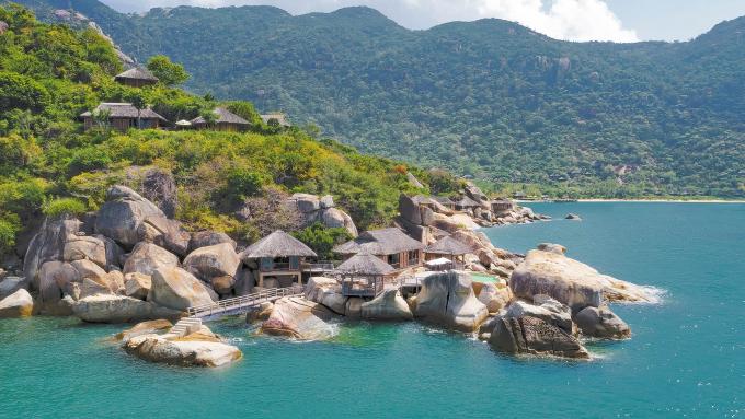 Khu nghỉ dưỡng Six Senses Ninh Van Bay (Khánh Hòa).