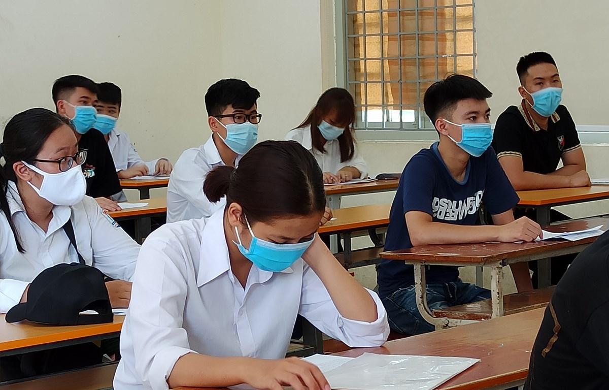 Thí sinh tham dự kỳ thi tốt nghiệp THPT năm 2020.