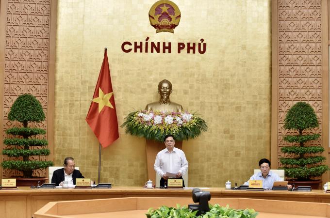 Thủ tướng họp