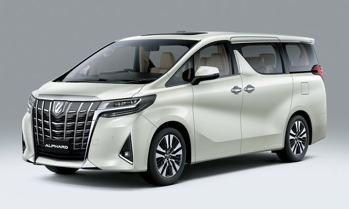 Toyota Alphard 2021 tập trung nâng cấp tính năng an toàn
