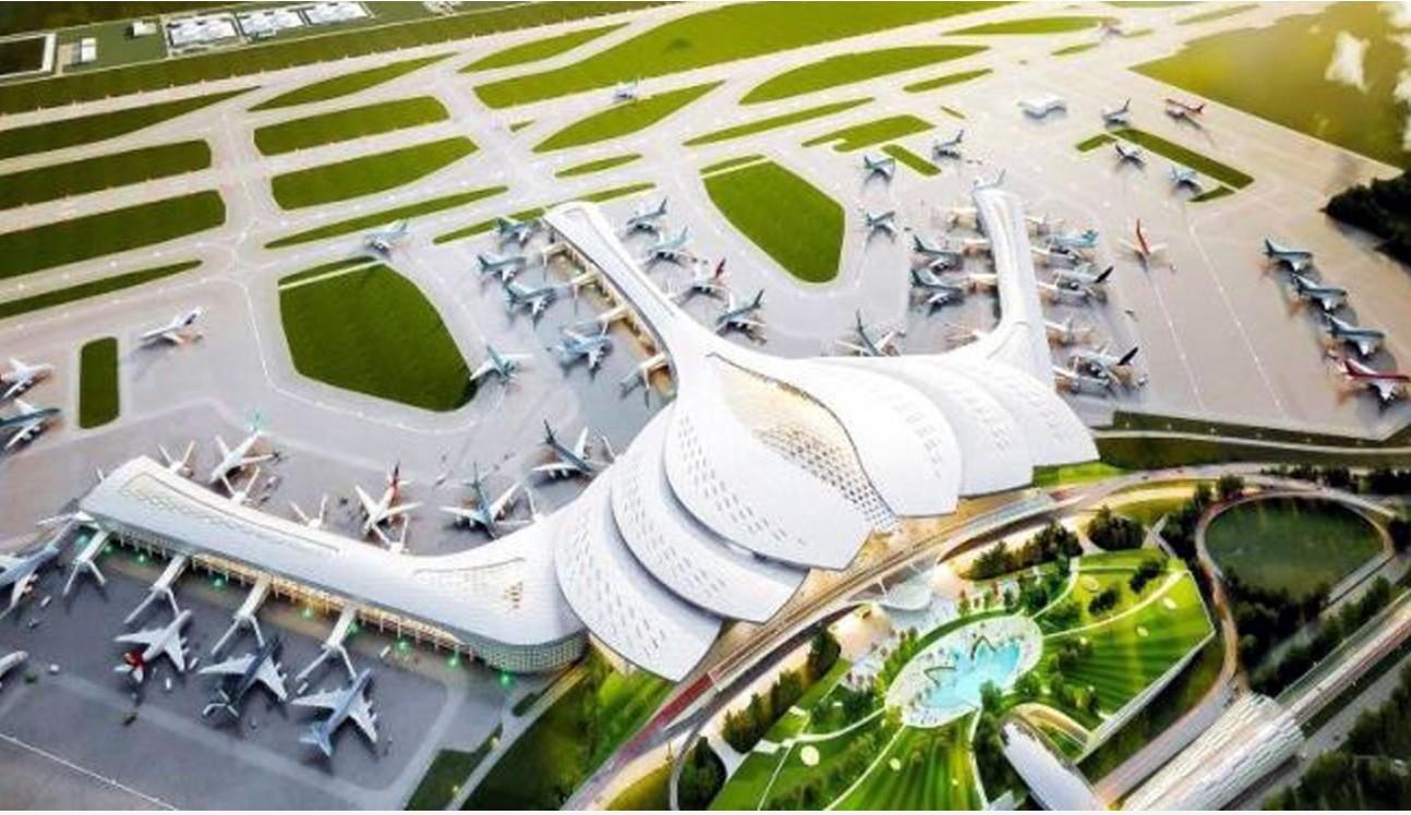 Lễ khởi công xây dựng Cảng Hàng không quốc tế Long Thành giai đoạn 1 sẽ diễn ra vào sáng 5/1/2021.