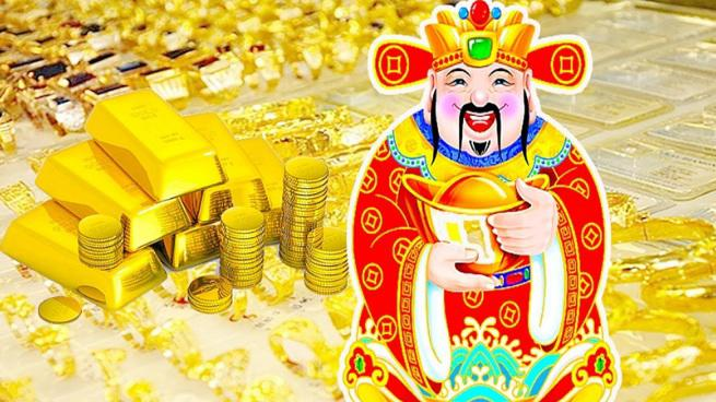 Ngày Vía Thần Tài thường mua vàng để cầu một năm tiền bạc rủng rỉnh đầy túi