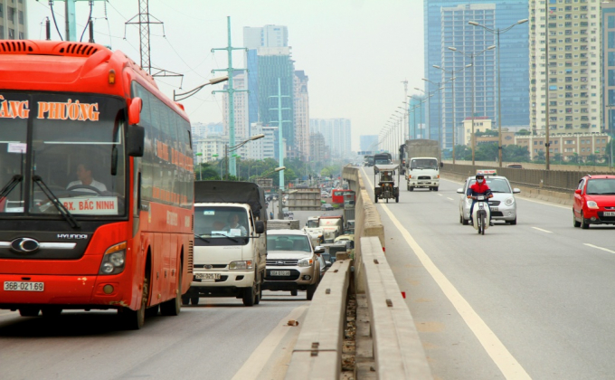 Hà Nội: Xe khách chỉ được di chuyển tại đường Vành đai 3 trên cao