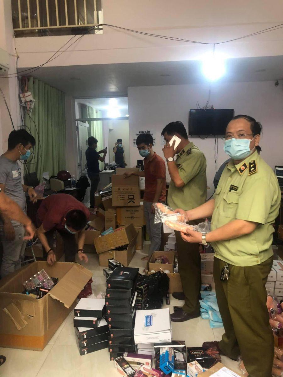 QLTT TP Hồ Chí Minh thu giữ trên 33.000 dụng cụ hỗ trợ tình dục không rõ nguồn gốc xuất xứ