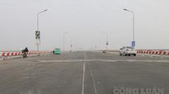 Cầu Thăng Long sẽ chính thức thông xe vào ngày 7/1/2021