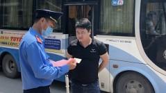 Hà Nội: Xử lý hơn 6.000 xe khách vi phạm trong năm 2020