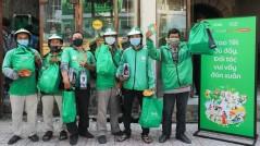 Grab trao 20.000 phần quà hỗ trợ đối tác đón Tết