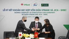 VPBank nhận gói vay hợp vốn 100 triệu USD từ JICA và SMBC