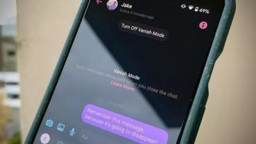 Hướng dẫn cách xoá tin nhắn Messenger tự động bằng tính năng Vanish Mode
